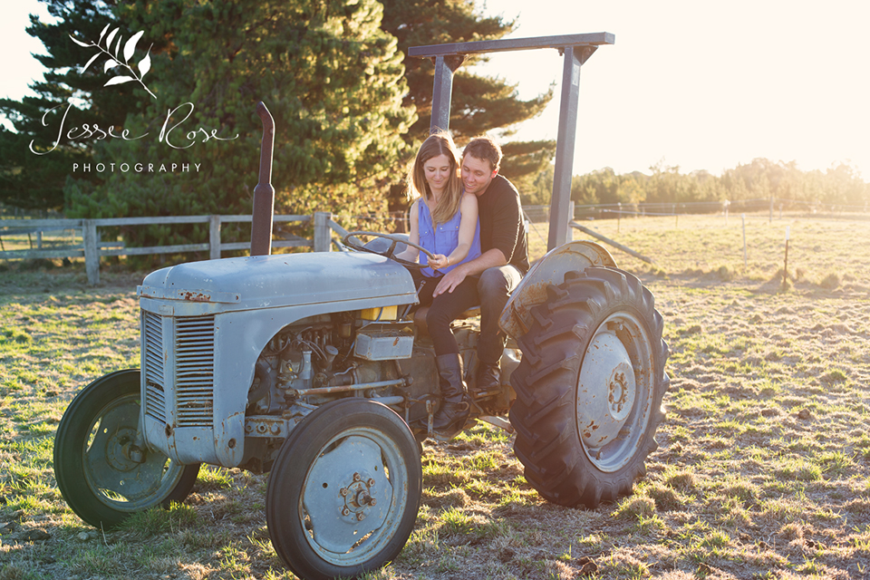 rustic_country_engagement_session_tractor