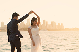 Dion & Vidi's Stunning Spring Wedding