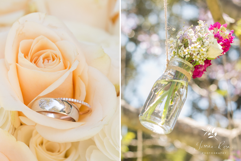 diy-wedding-bouquet-roses-rings-sydney-hanging-flowers