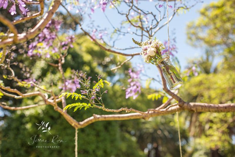 jacaranda-wedding-hanging-flower-jars