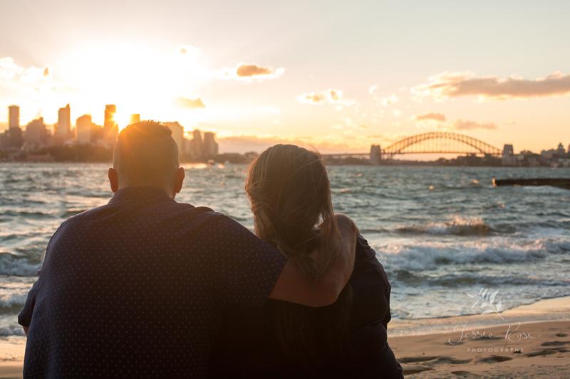 bradleys-head-sunset-engagement